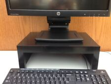 "TV LCD Computer Monitor Stand 15"" Wide in Black Finish"