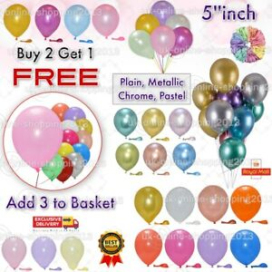 """Small Round Latex Best Balloons Quality 20 X 5""""  Standard ballon Colour PARTY"""