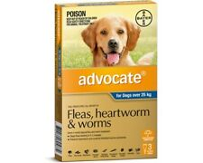 Advocate 3 Doses for Extra Large Dogs Over 25Kg BLUE