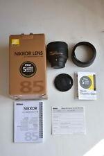Nikon AF-S 85mm 1,8 G ED, neuw., OVP, auch für Nikon Z