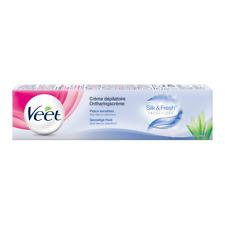 Veet creme depilatoire - Peaux sensibles Silketfresh