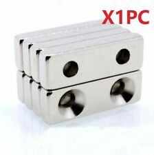 Super Strong Magnets Block Cuboid 30x10 x5 mm Rare Earth Neodymium N35 1Pc ~