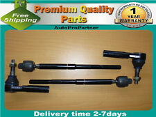 4 INNER OUTER TIE ROD END SET FOR CHRYSLER 300C 300 11-14 2WD 4X2
