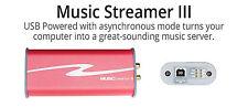 HRT MUSIC STREAMER III D/A DAC USB DI QUARTA GENERAZIONE NUOVO GARANZIA