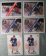 1991-1992 Hockey Cards Ultimate Checklist Lot of 6 Near Mint Condition