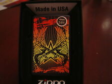 ELECTRIC GUITAR #2 WINGS STAR ZIPPO LIGHTER MINT IN BOX