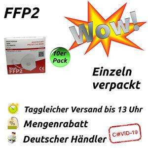 700x FFP2 Masken Atemschutz CE-zertifiziert 5-lagig Restposten Großhandel Maske