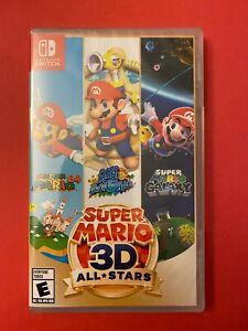 NEW: Super Mario 3D All-Stars for Nintendo Switch (64, Sunshine, Galaxy) (2020)