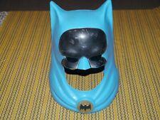 Rare Vintage 1966 Ideal Toy Corp Batman Plastic Halloween Mask Helmet NPP Inc.