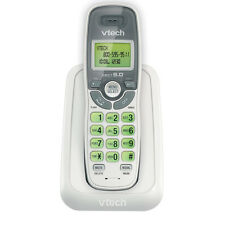 Vtech DECT 6.0 Caller ID / Call Waiting Cordless Phone (White) CS6114
