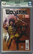 Wolverine (2013 Series) #1 CGC 9.8 Forbidden Planet Comics Variant QLFD Signed