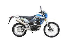 K-Sport Terra Motorrad - 125 ccm Crossbike EURO 4 Blau/Weiß