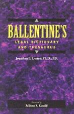 NEW - Ballentine's Legal Dictionary/Thesaurus (Lawyers Cooperative Publishing)