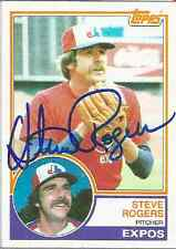 Steve Rogers authentic signed autographed trading card COA