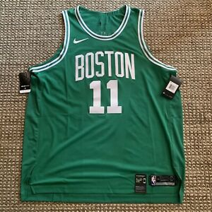Nike Aeroswift Boston Celtics Kyrie Irving Stitched Jersey Sz 52/XL 863015-316