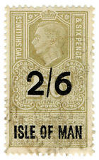 (I.B) George Vi Revenue : Isle of Man 2/6d