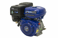 "Blue Max 11 HP 4-Stroke Gas Powered 340 CC Engine Horizontal 1"" Straight Shaft"