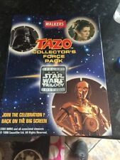 Star Wars Memorbillia 1996  tazo collection complete