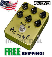 New JOYO JF-13 AC TONE Effects Pedal Vox AC30 Style Reproduction Stompbox USA