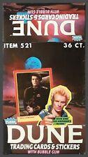 1984 Fleer Dune [The Movie] - Empty Display Box - EXCELLENT Condition