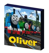PERSONALISED THOMAS THE TANK ENGINE AND FRIENDS CANVAS PICTURE