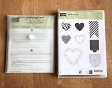 Stampin' Up Hearts A Flutter Stamp Set with Coordinating Framelits