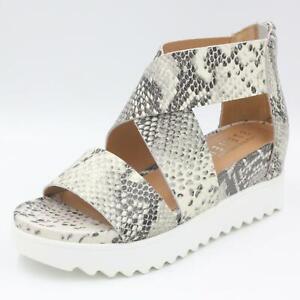 Steven By Steve Madden Women Sandals Kea White Multi Leather Natural Comfort