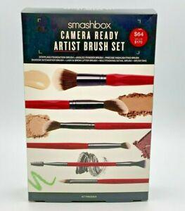 Smashbox Camera Ready Artist Brush Set + Brush bag New + Free Shipping