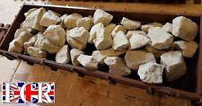 G escala 45mm Marrón Plano Cama Camión con 1kg Crema Piedra Carga Freight TREN