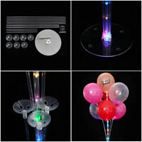 Day  Birthday Decoration Wedding Favors LED Column Stand Balloon Support Rack