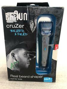 Rechargable Braun Cruzer 6 Beard & Head Hair Shaver Trimmer