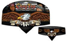 Chop Top Doo Wrap Proud Eagle Bandanna