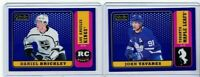 2018-19 OPEECHEE PLATINUM JOHN TAVARES/DANIEL BRICKLEY PURPLE LOT (2) /149 PD