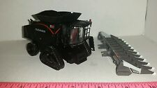 1/64 ertl custom agco allis chalmers gleaner s98 blak combine row track farm toy