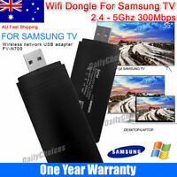 Wireless LAN Adapter WiFi USB Dongle for Samsung TV WIS09ABGN WIS12ABGNX 300Mbps
