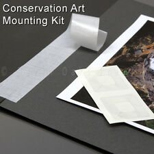 Art Mounting Kit - Lineco Linen Tape and Photo Corners for Conservation Framing