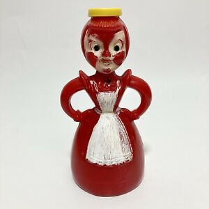 Merry Maid Vintage Red Clothes Sprinkler Bottle Laundry