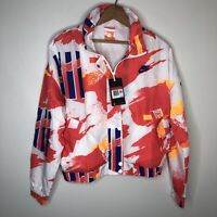 Nike Challenge Court Tennis Jacket Womens Large L Agassi CQ9176 101