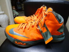 Nike SZ 13.5M Zoom Soldat Vi 6 Herren Lebron James Orange/Camo