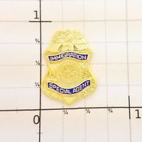 US Department of Justice Immigration Special Agent MINI PIN Lapel Hat Tie Tack
