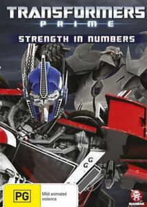 Transformers - Prime - Strength in Numbers : Vol 4 dvd brand new sealed!