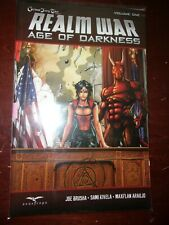 REALM WAR: AGE OF DARKNESS VOL #1 TPB Grimm Fairy Tales Zenescope #1-6 Graphic N