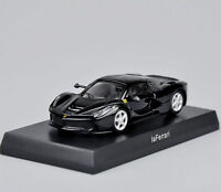 Kyosho  Ferrari Laferrari Model Toys 1/64 Black Minicar Diecast Car Vehicles