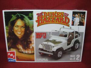 Dukes of Hazzard Daisy's Jeep CI CJ AMT Ertl 1:25 Plastic Model Kit 31535-1HD