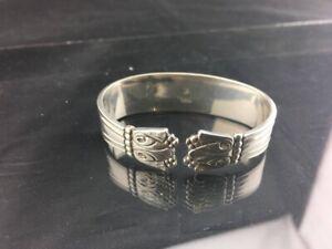 DANISH silver NAPKIN RING - c1904 - W&S Sorensen - Horsens