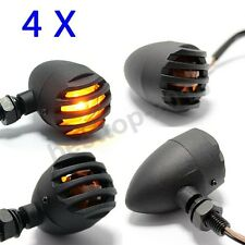 12V Universal Cafe Racer Bobber Chopper Motorcycle Turn Signals Indicator Lights