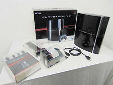 Sony Playstation 3 PS3 Console 40GB w/ New-Wireless Controller, Remote, Cables