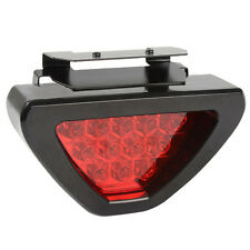 Universal RED Triangle 12 LED Brake Lamps Warning Light Flash Blinker Safety HOT