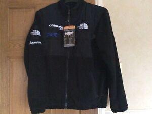 Black North Face Fleece Jacket Size Large