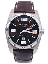Orologio Locman Stealth DATA Quarzo 208MPLM/295 Gomma Scontatissimo Nuovo